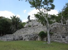 Kohunlich ruins, Quintana Roo, Mexico, Copyright Silverleaf 2014