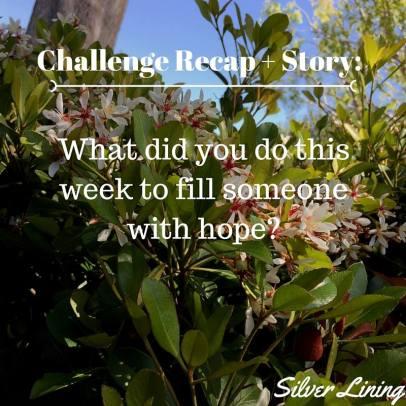 https://silverliningcommunity.wordpress.com/2016/03/19/challenge-recap-and-story/