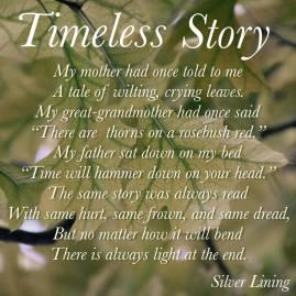 https://silverliningcommunity.wordpress.com/2016/01/29/timeless-story/