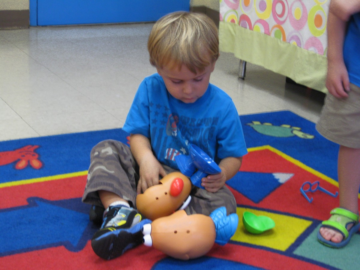 October 2 Year Old Class Activity
