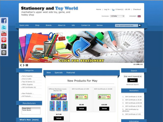 Stationery and Toy World