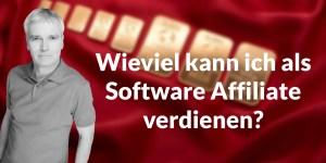 Wieviel kann ich als Software Affiliate verdienen?