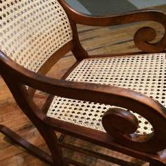 Rocking Chair Cane Covers Rental Toronto Silver River Center For Caning Lincoln Rocker Intermediate Laced 1