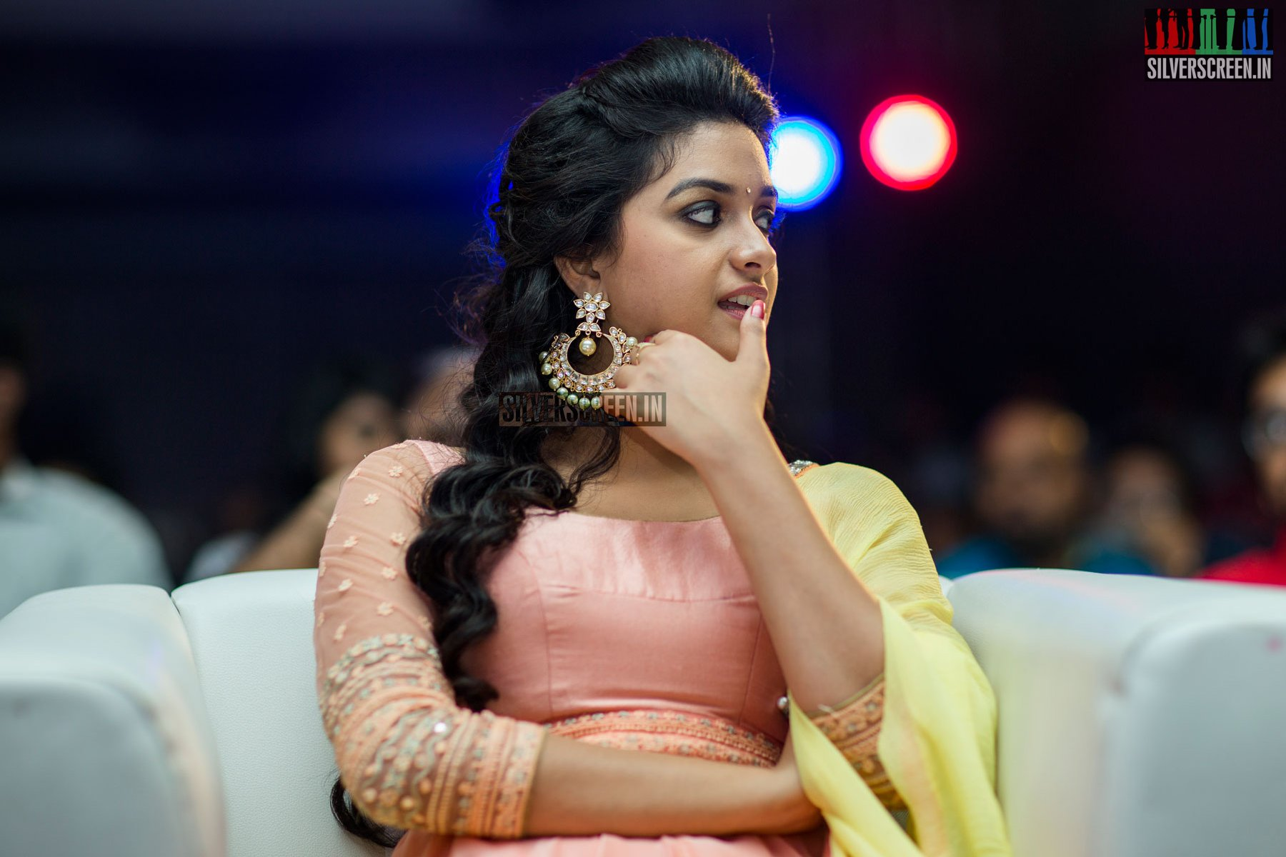 Keerthy Suresh at Remo First Look Launch  Silverscreenin