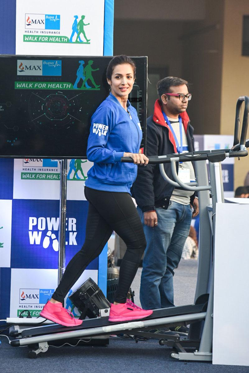 Ayushmann Khurrana Malaika Arora At The Walk For Health Campaign  Silverscreenin