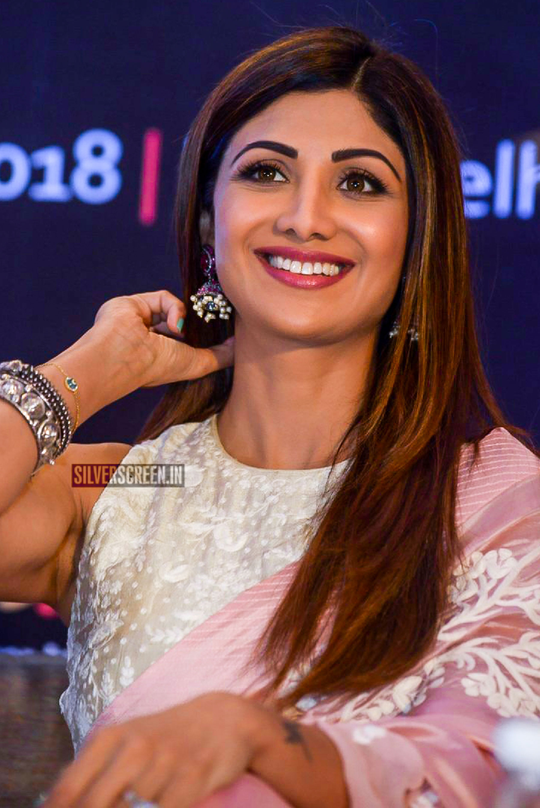 Shilpa Shetty At The Ficci Flos Wellness 360 Press Meet