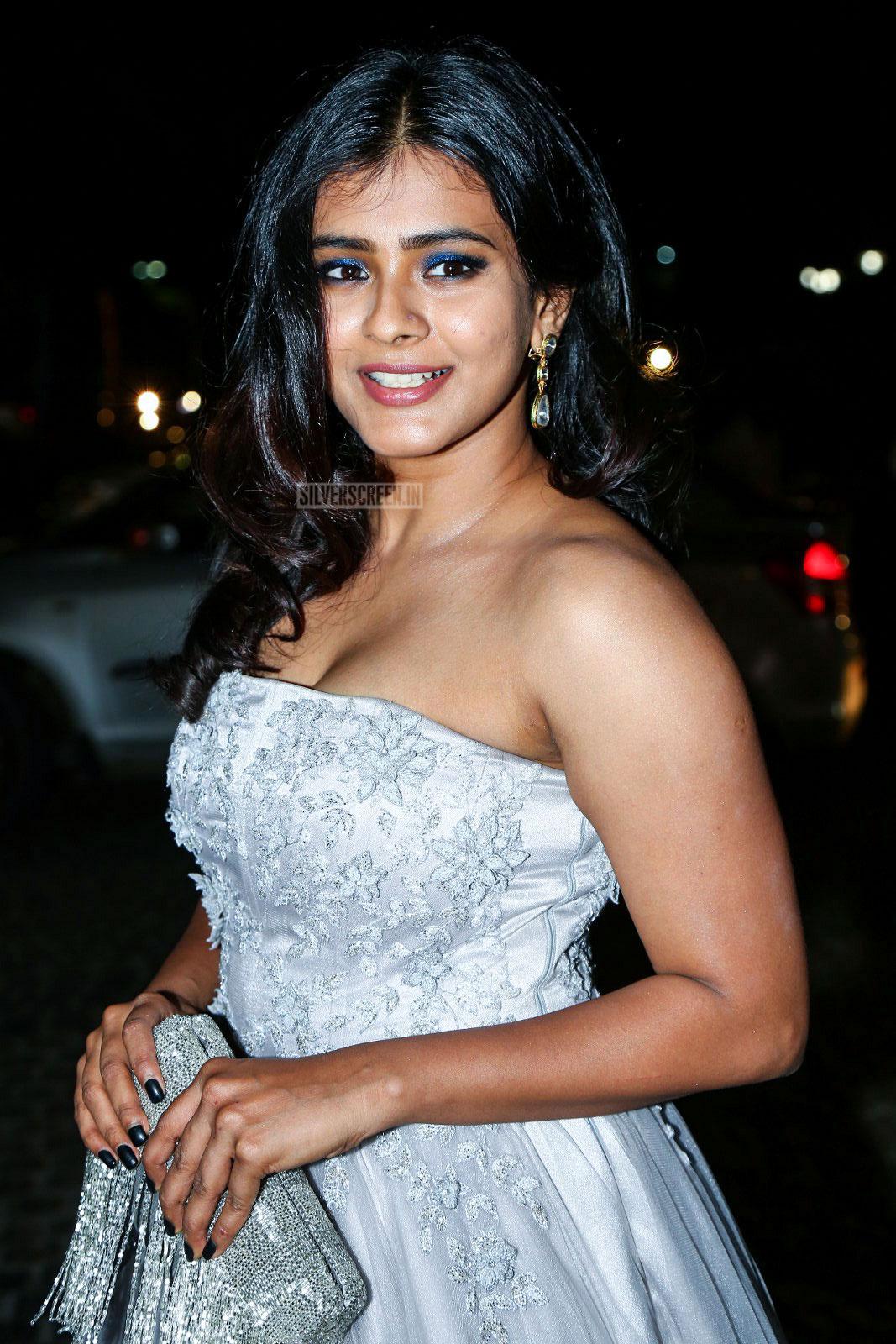 Regina Cassandra At 65th Jio Filmfare Awards South 2018