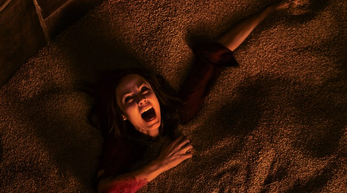 "Laura Vandervoort as ""Anna"" in JIGSAW. Photo by Brooke Palmer."