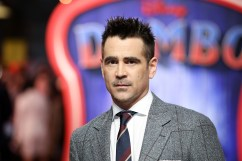 """Colin Farrell attends the European Premiere of Disney's """"Dumbo"""" on February 27, 2019 in London, UK"""