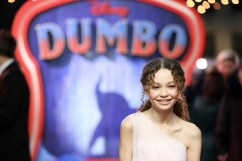 "Nico Parker attends the European Premiere of Disney's ""Dumbo"" on February 27, 2019 in London, UK"