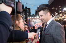 "Colin Farrell attends the European Premiere of Disney's ""Dumbo"" on February 27, 2019 in London, UK"