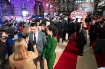 Colin Farrell and Eva Green attend the European Premiere of Disney's ÒDumboÓ on February 27, 2019 in London, UK