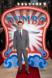 Colin Farrell attends the European Premiere of Disney's ÒDumboÓ on February 27, 2019 in London, UK
