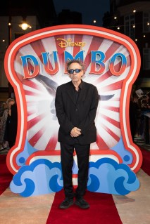 Tim Burton attends the European Premiere of Disney's ÒDumboÓ on February 27, 2019 in London, UK