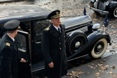 Woody Harrelson stars as 'Admiral Chester Nimitz' in MIDWAY.