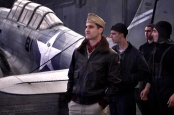 Darren Criss stars as 'Lt. Eugene Lindsey' in MIDWAY.