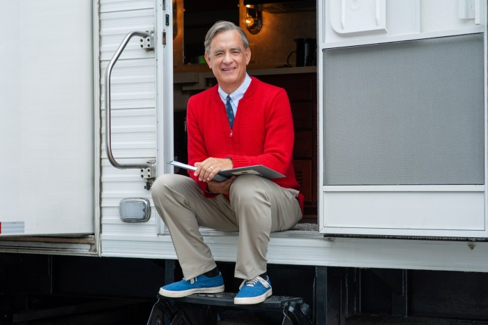 Untitled Mr. Rogers / Tom Hanks Project