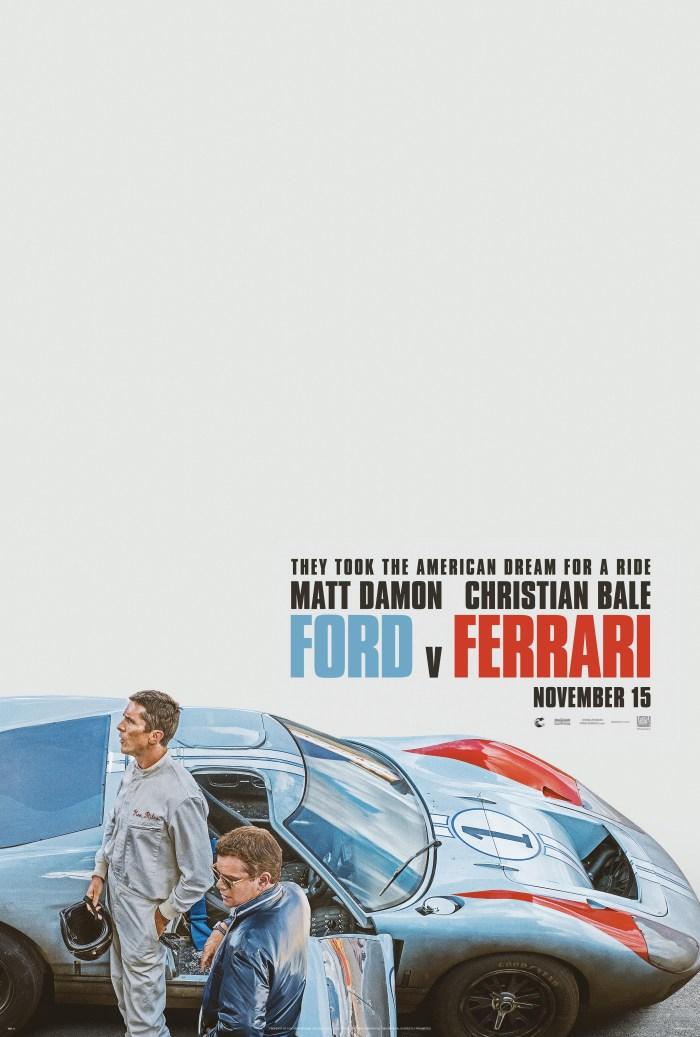 Ford V Ferrari (2019) Poster
