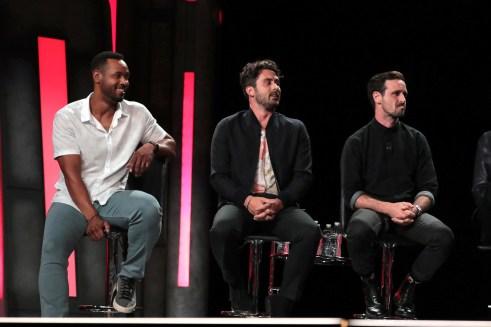 Isaiah Mustafa, Andy Bean, James Ransone