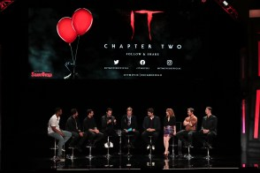 Isaiah Mustafa, Andy Bean, James Ransone, Bill Hader, Conan O'Brien, Andy Muschietti, Director, Jessica Chastain, James McAvoy, Jay Ryan