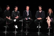 James Ransone, Bill Hader, Conan O'Brien, Andy Muschietti, Director, Jessica Chastain