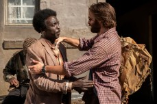Michael Kenneth Williams, Chris Evans - Red Sea Diving Resort - Photo Credit: Netflix / Marcos Cruz