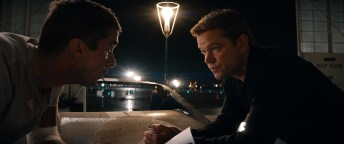 Christian Bale and Matt Damon in Twentieth Century Fox's FORD V FERRARI.
