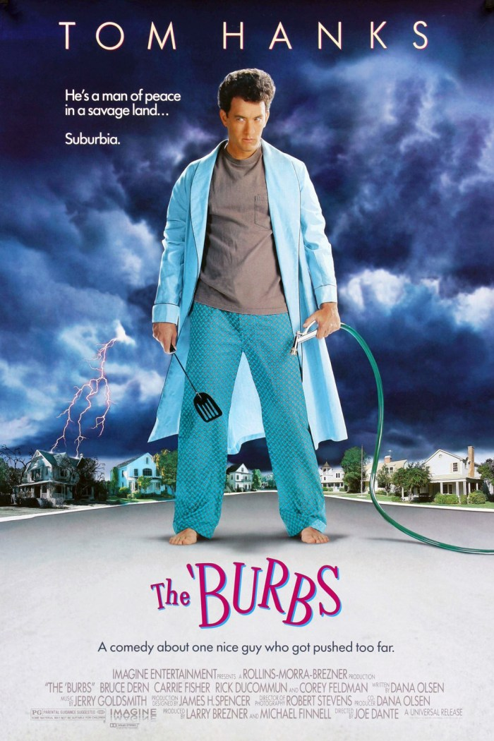 Poster - The Burbs