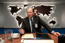 SPACE FORCE (L TO R) DAN BAKKEDAHL as SECRETARY OF DEFENSE in episode 103 of SPACE FORCE Cr. AARON EPSTEIN/NETFLIX © 2020