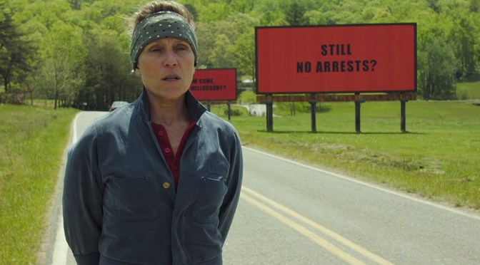 Movie Review: Three Billboards Outside Ebbing, Missouri
