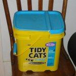 Image of cat supplies litter