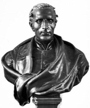 En byst av Louis Braille av Étienne Leroux