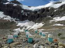Sanitation, alpine hut style- gray water filter system