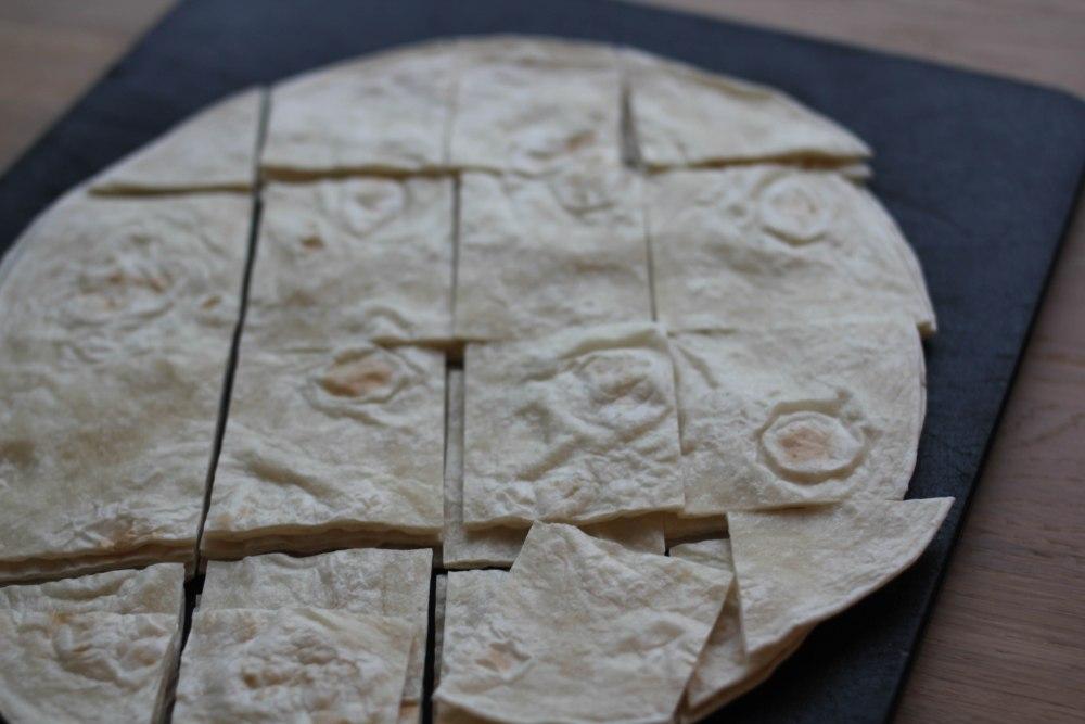 Bodacious aubergine dip and crispy baked tortillas  (5/6)