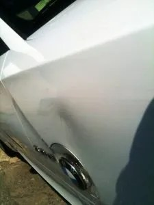 Silver Star Service Center - Paintless Dent Repair - Before Photo