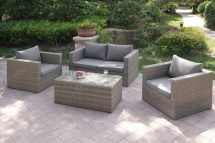 403-405 4-pcs Outdoor Set 2colors - Silver State Furniture