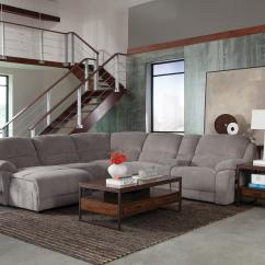 Gray Velvet Sofa With Nailheads Lillberg Bed Assembly Instructions Silver Sectional And Grey Couch Mulberry ...