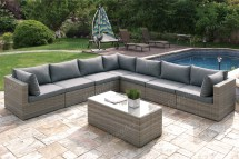413- 8 Piece Set 2 Colors - Silver State Furniture