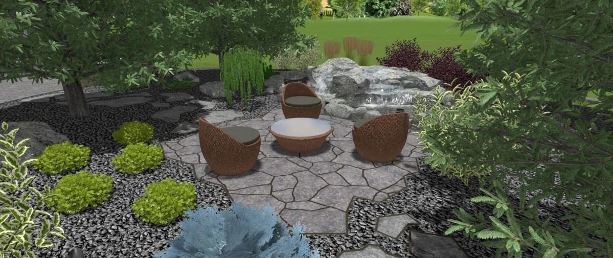 an example of a 3D landscape design from Winnipeg
