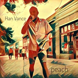 """peach"" by Han Vance"