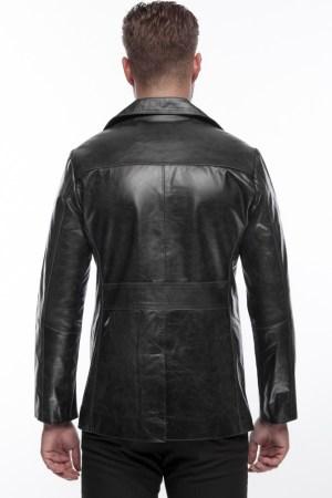 Men's Jacket in Black Leather