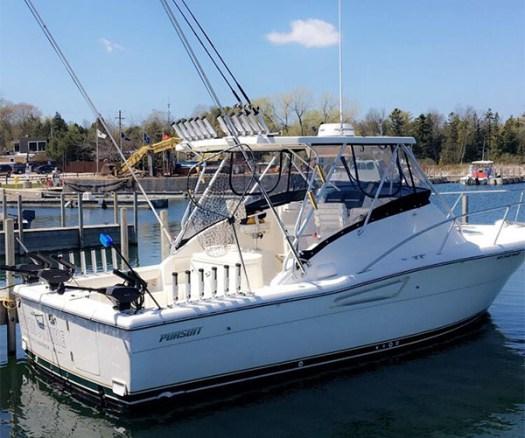Salmon and Lake Michigan Charter Fishing in Door County, WI