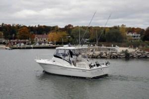 Salmon Fishing Charters in Door County