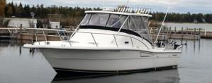 Silver Strike Fishing Salmon Boat