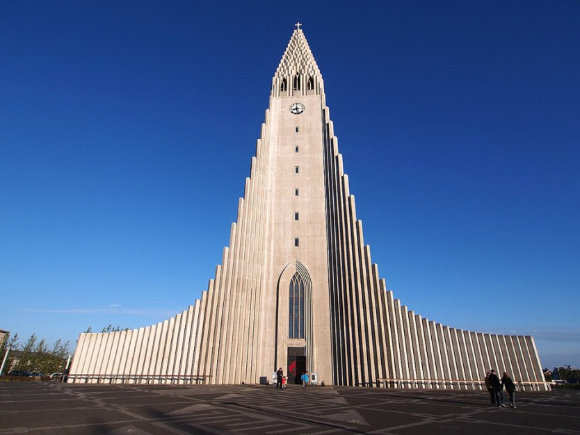 European break destination Hallgrímskirkja