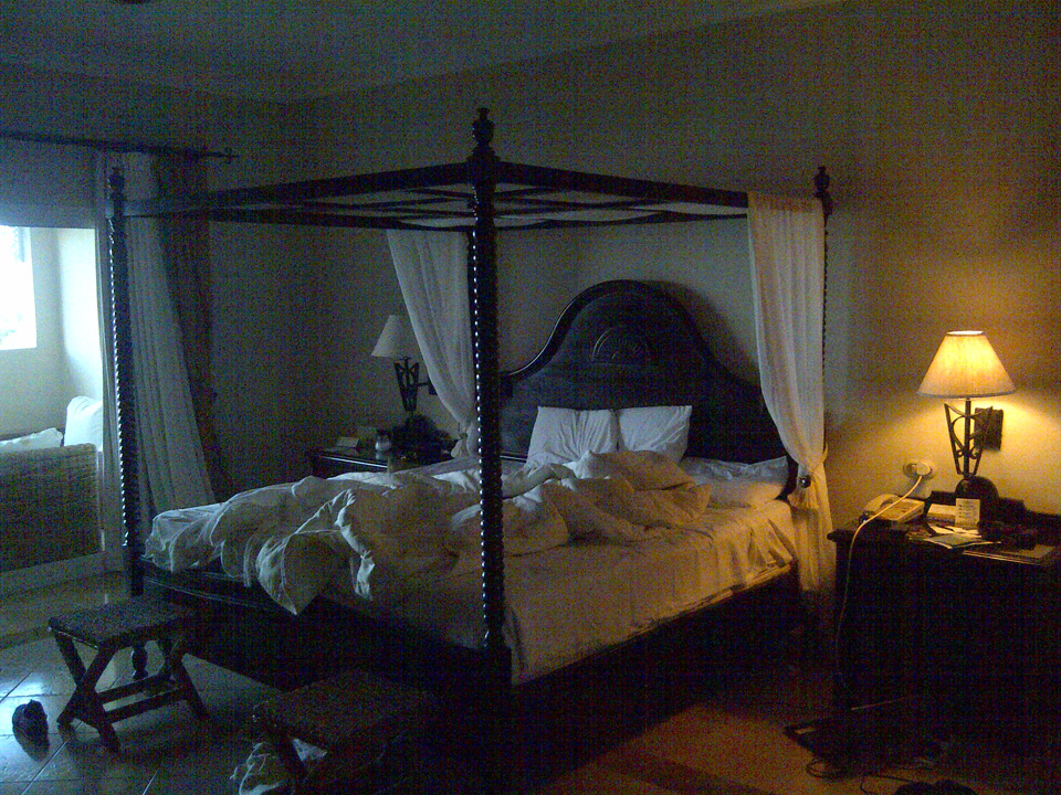 Our room at Cayo Levantado