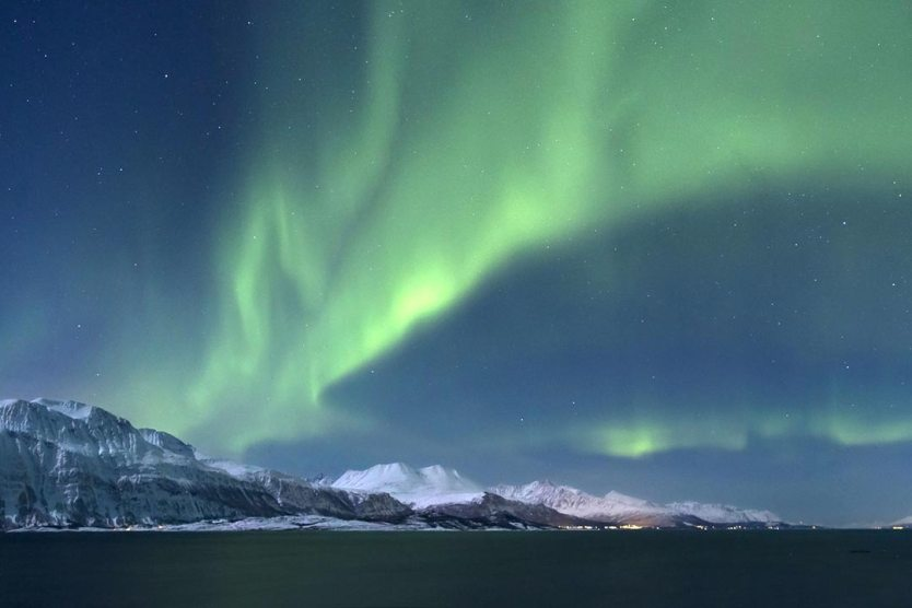European break destination Aurora Borealis