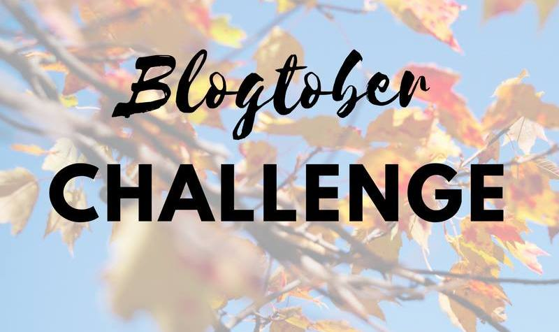October blog writing challenge
