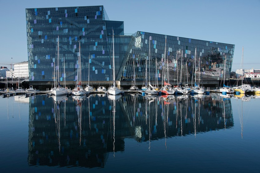 European break destination Harpa