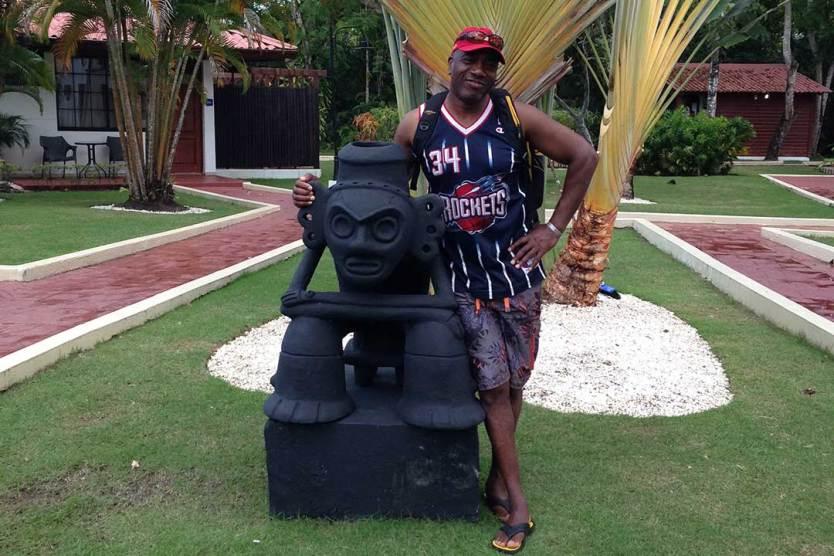 Me at Bluebay Villas Doradas